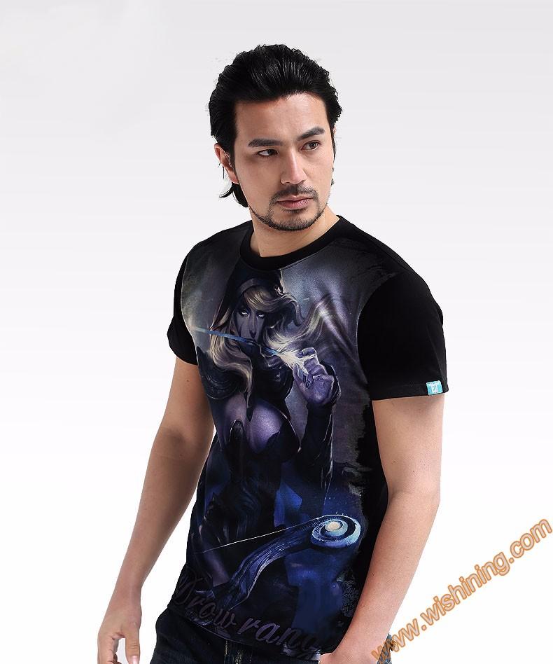 DOTA 2 Drow Ranger t shirt Tee8101 (2)
