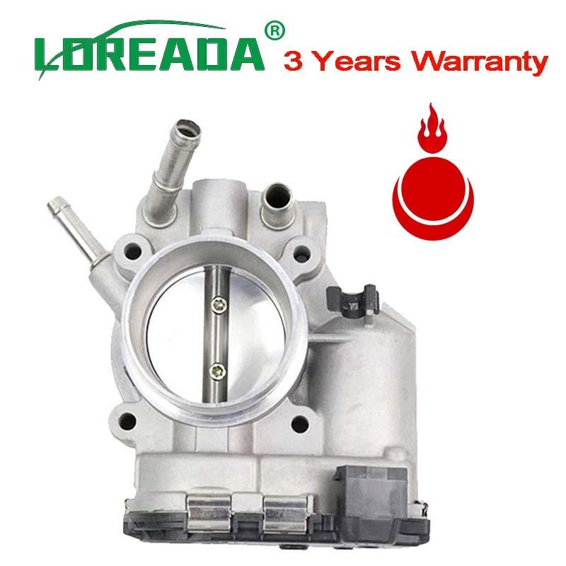 US $45 99 |LOREADA 35100 2B150 Electronic Throttle Body 9590930008  351002B150 Air Intake For Hyundai I30 For KIA K2 Rio Bosch/ Kefico 44mm-in  Throttle