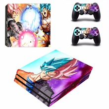 Anime Dragon Ball Super Goku PS4 Pro Skin Sticker Vinyl Decal