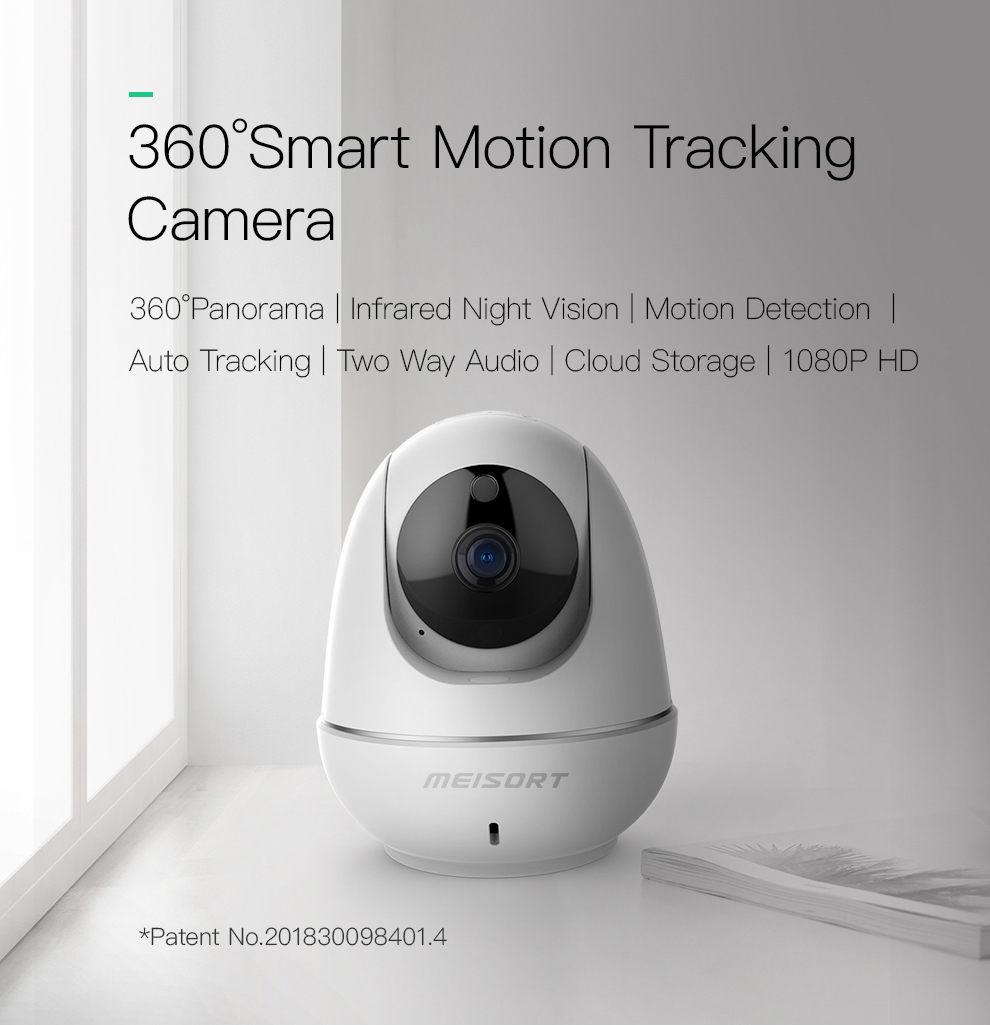 SOVMIKO HD 1080P Cloud Wireless IP Camera Intelligent Auto Tracking Human Move