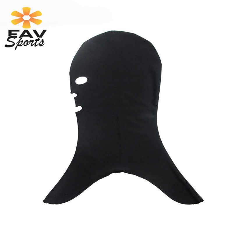 FAVSPORTS Unisex Zwemmen Zwembad Cap Hood Scuba Masker Hoed UV Bescherming Volledige Gezicht Zwemmen Hoed Volwassen met Hals Lycra