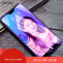IMIDO for Huawei Honor 9 9i Lite Full Cover Anti Blue Tempered Glass 10 Blue-ray Screen Protector Film