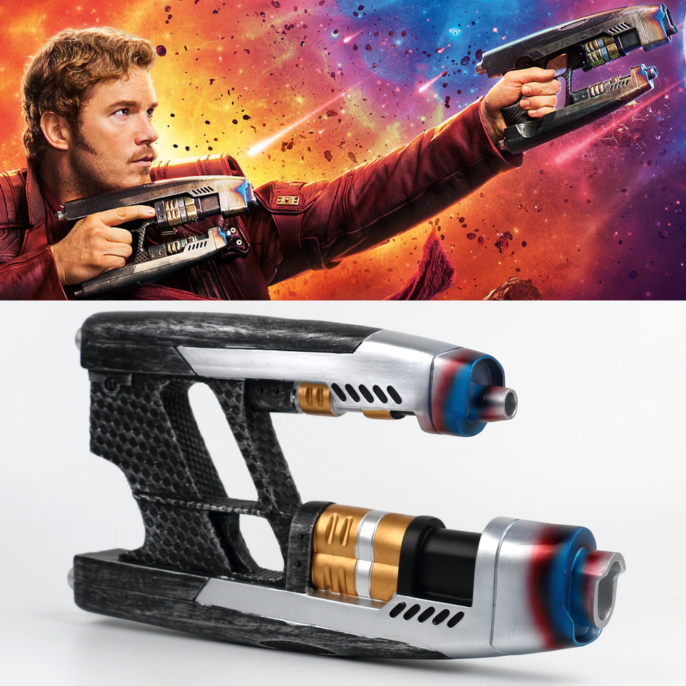 Costumes & Accessories Costume Props A Pair Of 2018 Movie Avengers 3 Infinity War Star Lord Cosplay Double Guns Peter Jason Quill Superhero Weapon Props Halloween