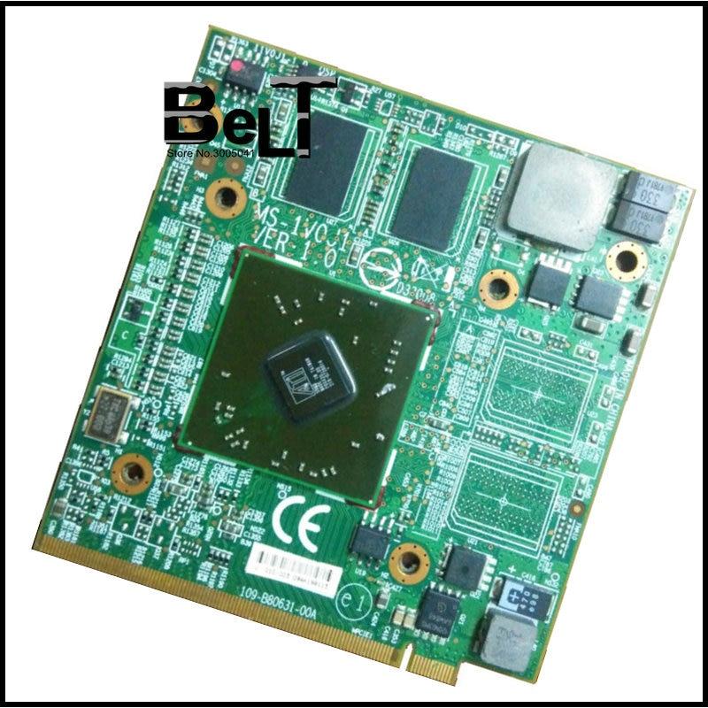 HD4570 Video Card HD 4570 512mb for MSI EX627 EX628 EX625 GX623 MS 1V0J1 1651 1674