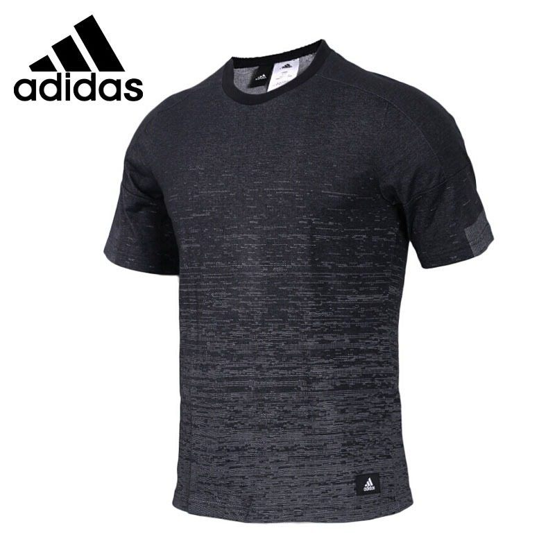 Original New Arrival Adidas SS FULLKNIT JAQ Men s T shirts short sleeve Sportswear