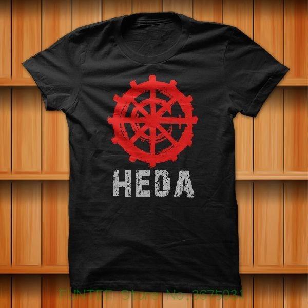 Womens Tee The 100 Heda Lexa Symbol Movie Series Commander T-shirt Black Size S - Xl Funny Clothe Tee Shirt