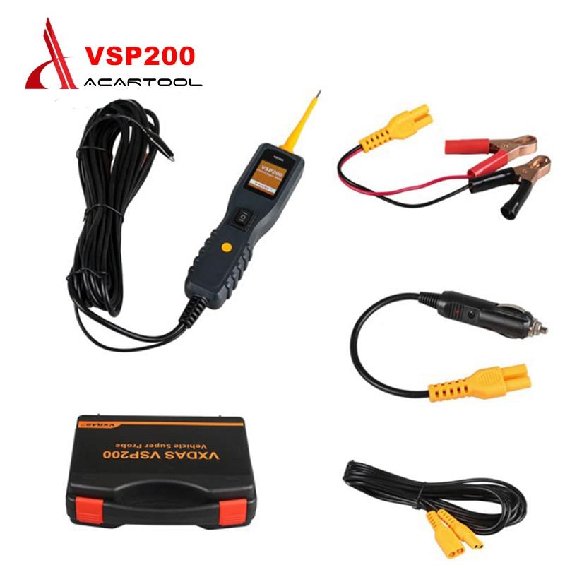 Prix pour Système électrique Diagnostics VXDAS VSP200 Puissance Sonde Plus Puissant que AUTEK YD208 Autel PS100 Voiture Électrique Circuit Testeur