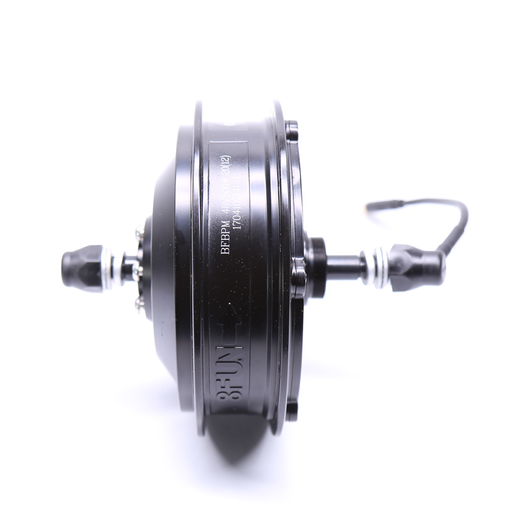 Free shipping 48v500w 8fun bafang bpm brushless hub rear for Most powerful electric motor