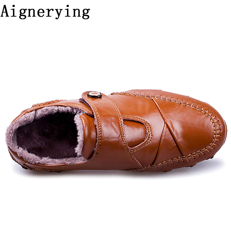 Véritable Hommes Casual Et black Zapatos 1 De brown 1 D'hiver Sping 2 2 black 1 brow Chaussures brow black 1 Hombre Black En brown Appartements Cuir Mocassins Robe Fur Yrdr5wnqC