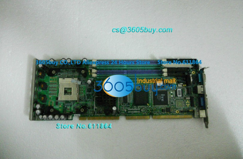 PCA-6187 Industrial Control Machine Board CPU Overall length Board PCA-6187VE A2 100% tested perfect quality