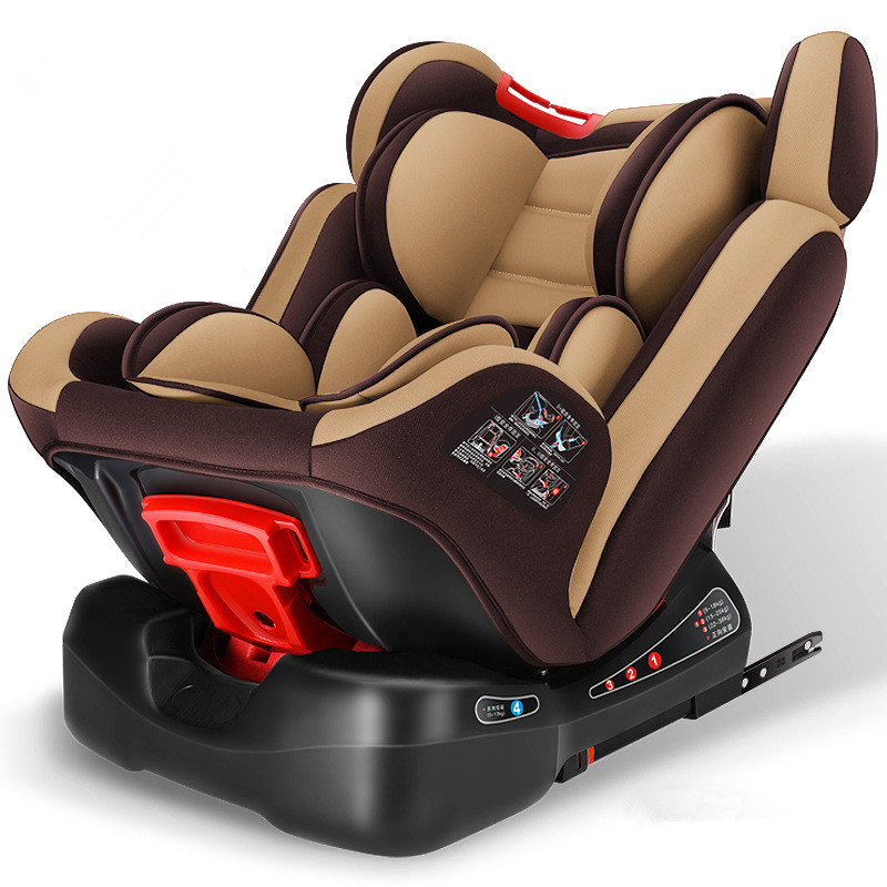 Car child safety seat carmind 0-12 years old baby ISOFIX hard interface sit / lie adjustable