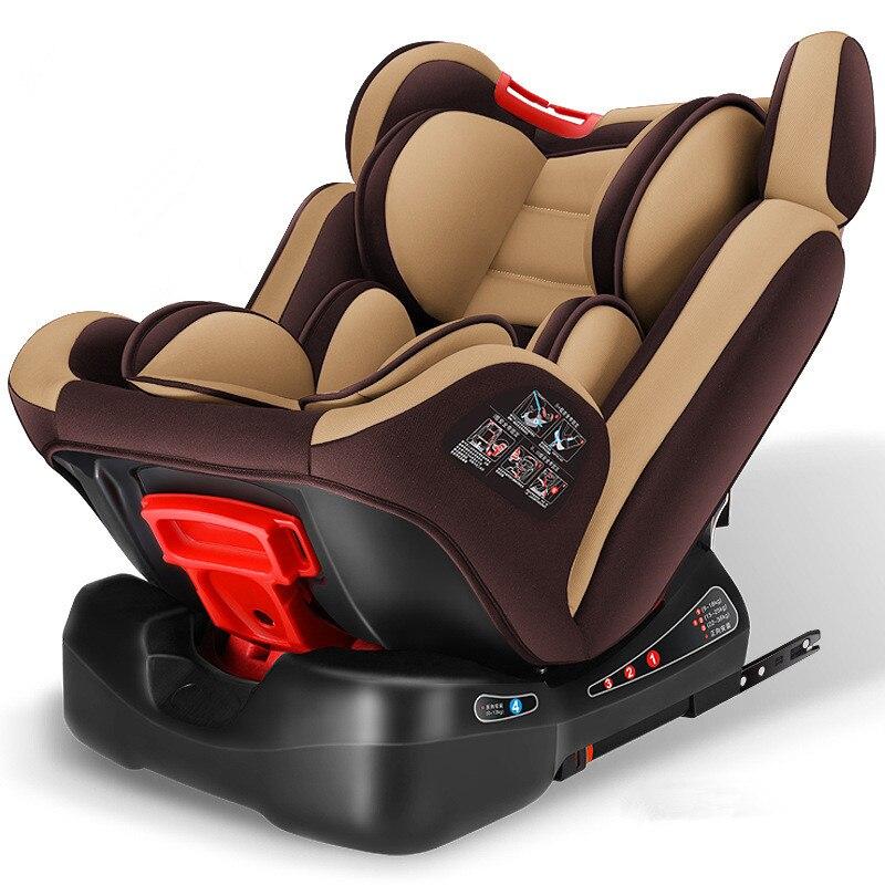 Siège de sécurité pour enfant carmind 0-12 ans bébé ISOFIX dur interface s'asseoir/lie réglable