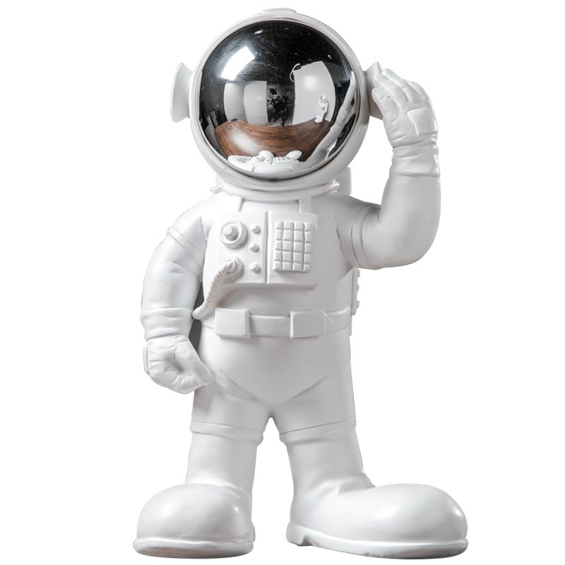 Modern Astronaut Sculpture Resin Statue Abstract Spaceman Figurine Nordic Home Decoration Accessories Craft Decor R738Modern Astronaut Sculpture Resin Statue Abstract Spaceman Figurine Nordic Home Decoration Accessories Craft Decor R738