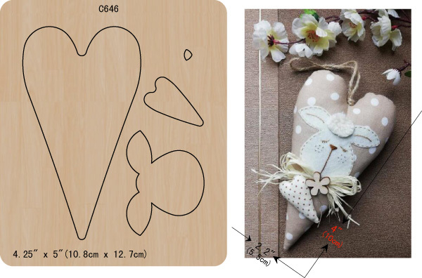 New Love, heart, Wooden die Scrapbooking C 646 Cutting Dies Multiple sizes
