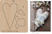 Yeni Aşk, kalp, Ahşap kalıp Scrapbooking C 646 Kesme Ölür Çoklu boyutları