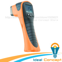 Promo offer 12:1 Distance Spot Ratio + Built-in Laser Pointer Handheld Digital Non-Contact IR Thermometer 560 Degree Celsius Range