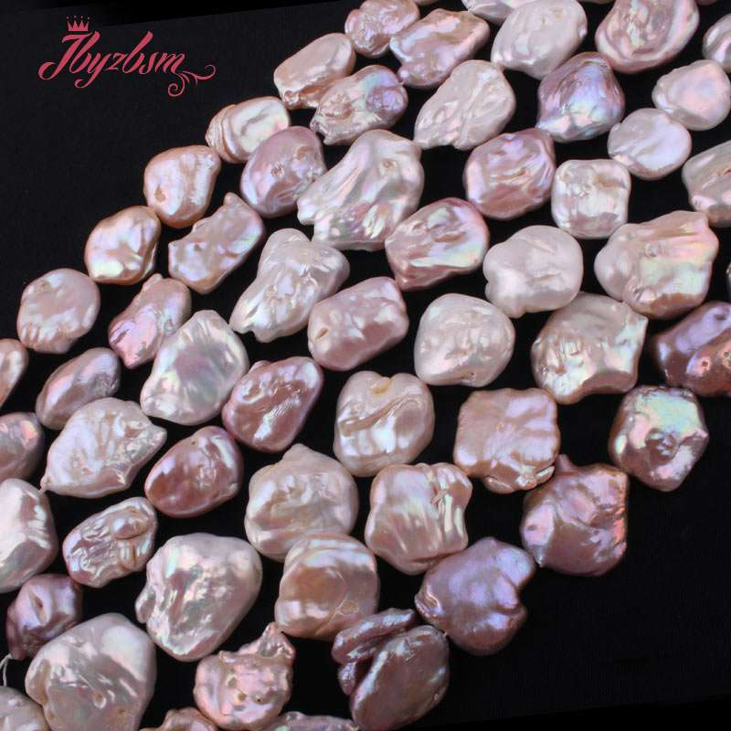 13x15-20x26mm Irregular Cultured Freshwater Pearl Natural Stone Beads For DIY Necklace Bracelets Jewelry Making 15Free Shipping