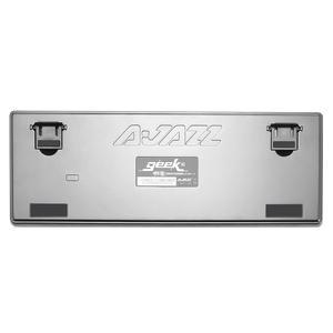 Image 4 - Ajazz AK33 82 Toetsen Mechanische Toetsenbord Russisch/Engels Layout Gaming Toetsenbord Rgb Backlight Blauw/Zwarte Schakelaar Bedraad Toetsenbord
