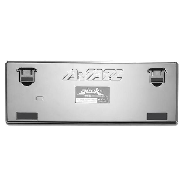 Ajazz AK33 82 keys mechanical keyboard Russian English layout gaming keyboard RGB backlight blue black