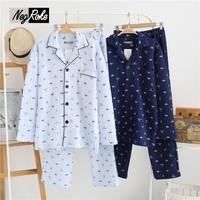 New Hot Sale Winter Thickening Keep Warm Pajama Sets Men Sleepwear Male Pajama Sets For Man