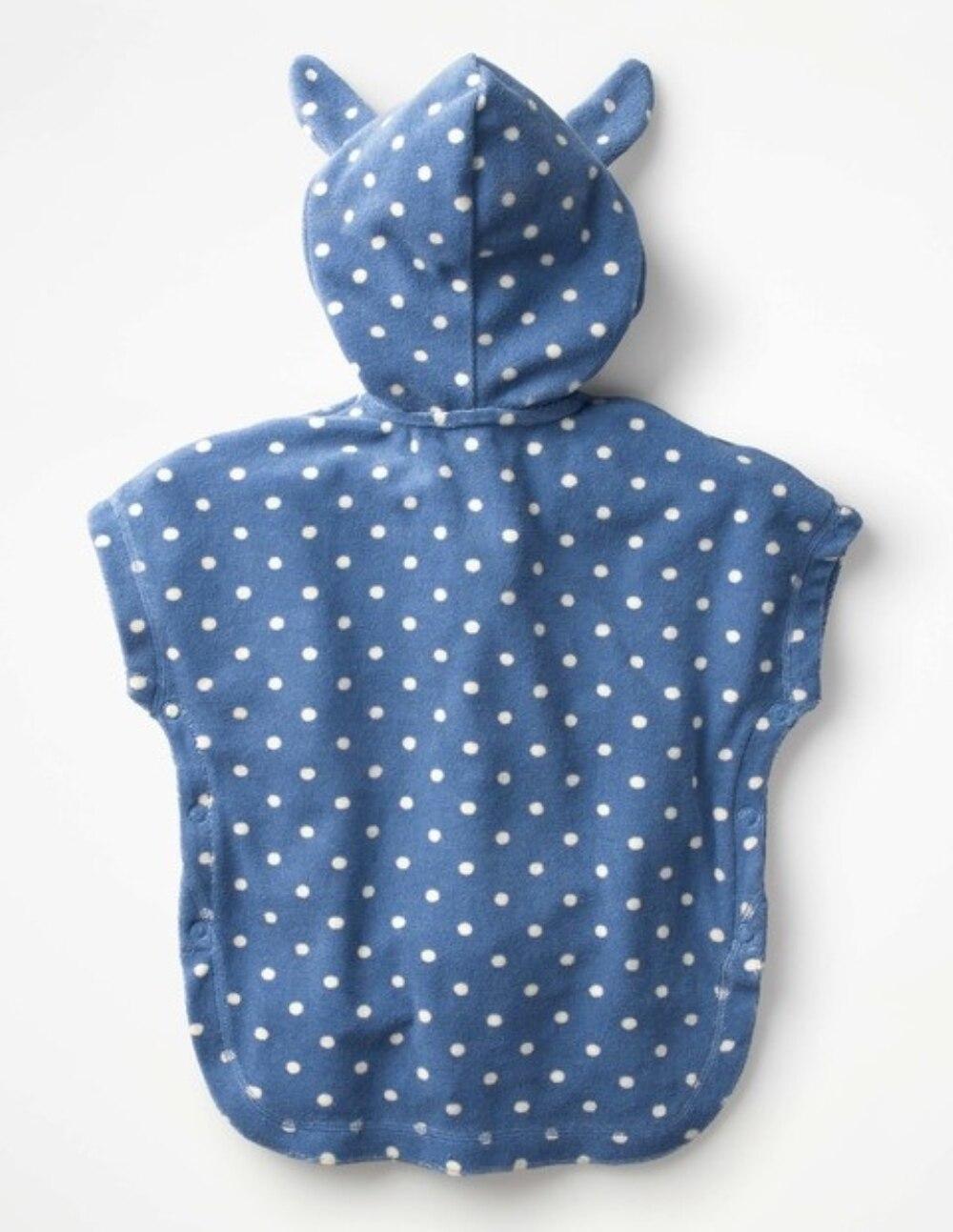toalha de banho poncho crianças roupão de