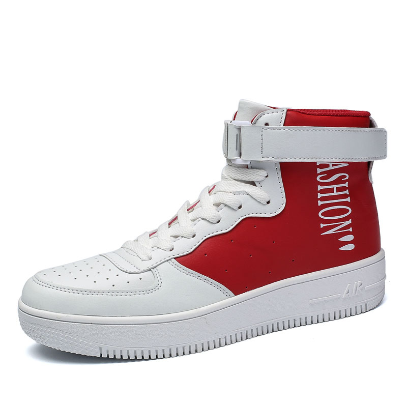 Hot Sale High Top Men Casual Canvas Shoes Off-White Air Force One Men 's Skateboarding Shoes Breather Sneakers Lace up Trainers men women s converse all star shoes high top lace up flats design five food recipes on white canvas sneakers gifts