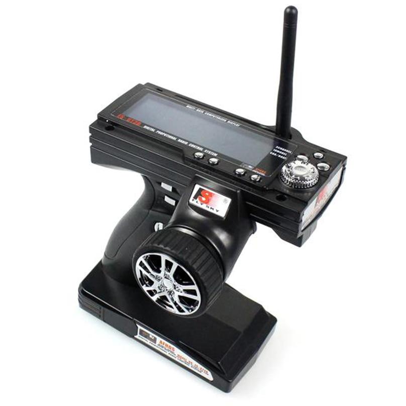 JMT Flysky FS GT3B FS-GT3B 2.4G 3CH Gun Controller Transmitter No receiver For RC Car Boat frsky fs gt3b 2 4g 3ch gun transmitter w receiver for rc car boat