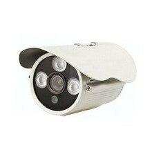 Alta Calidad Al Aire Libre De Vigilancia Simulada 1200 TVL Ir Led de Metal Bullet cámara CCTV Simulado de la Seguridad Cámara de vídeo 3.6/6/8mm J406a