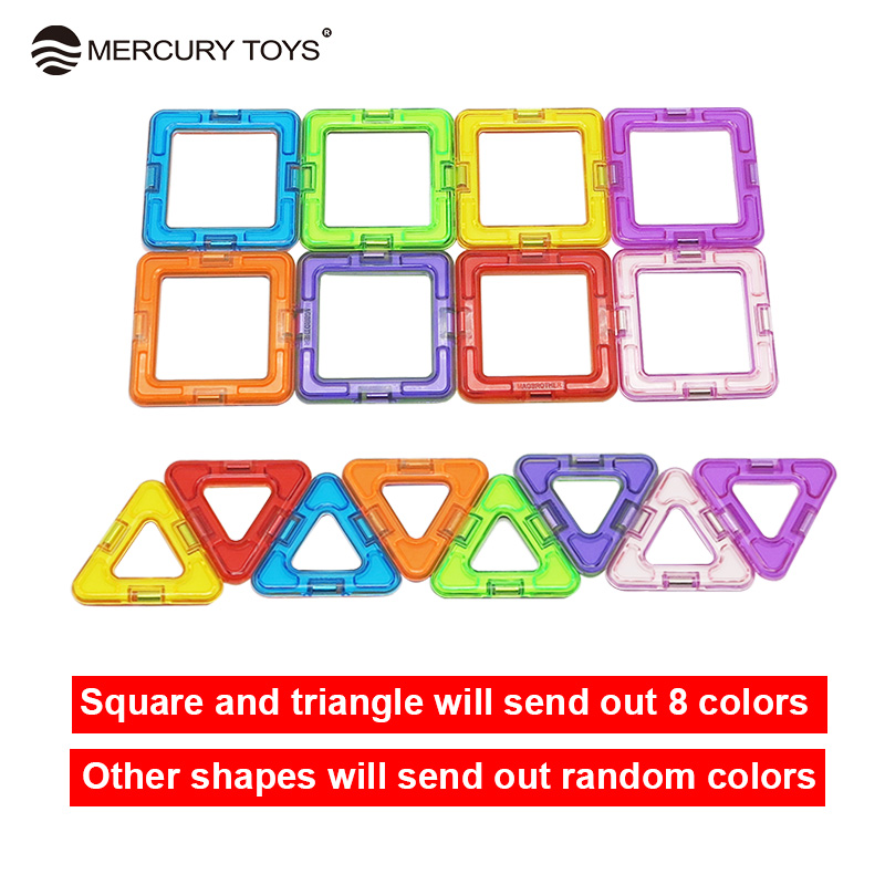 1Pcs Big Size Magnetic Blocks DIY building Single Bricks Part Accessory Construct Magnet Designer Educational Toys For Kids Gift 1