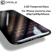 Cafele Tempered Glass for iPhone X XR XS Max 8 7 6 6s HD Clear Screen Protector For Xr xs max Protective Film