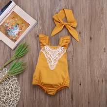 Newest Fashion Baby Girls Bodysuit