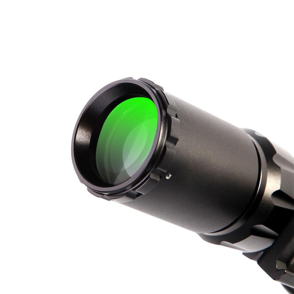 óptica riflescope iluminação rifle óptico ajustável