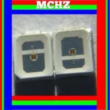 купить 1000pcs/lot SMD LED 2835 lamp beads highlight 0.3W 90ma 2V-2.6V red 625nm light-emitting diode Plant lamp beads по цене 1237.49 рублей