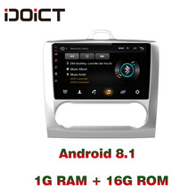 IDOICT  Android 8.1 Car DVD Player GPS Navigation Multimedia For Ford Focus Radio 2005-2011 car stereo bluetooth idoict android 8 1 car dvd player gps navigation multimedia for honda crv radio 2008 2009 2010 2011 car stereo