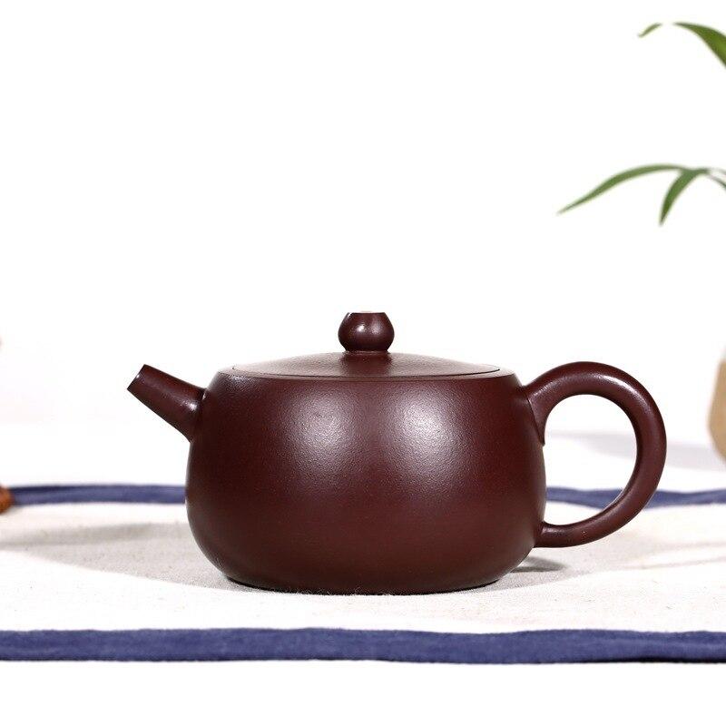 Authentique boue tout pot à main pot de qi yuan boîte-cadeau peint à la main yixing dispositions quotidiennes thé offres pour la théière
