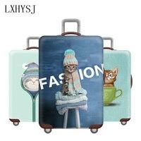 Утолщенный чемодан, Чехол для багажа, эластичный чехол для 18-32 дюймов, багажная Пылезащитная крышка, аксессуары для путешествий