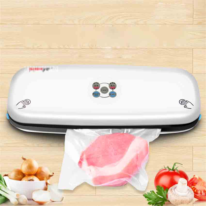 V60PLUS Household vacuum bag small automatic food plastic bag vacuum sealing machine 6-10s Sealing time Vacuum Food Sealers 220V household product plastic dustbin mold makers
