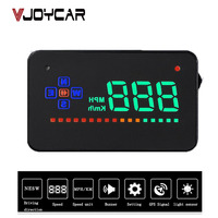 VJOYCAR A2 GPS Speedometer Head Up Display Auto HUD Windshield Projector Electronics Car Speed Projector Suitable for all Cars