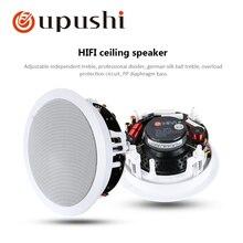 VX5-C профессиональный Hi-Fi потолочный настенный динамик 6,5 дюймов 8 Ом лучшее качество звука