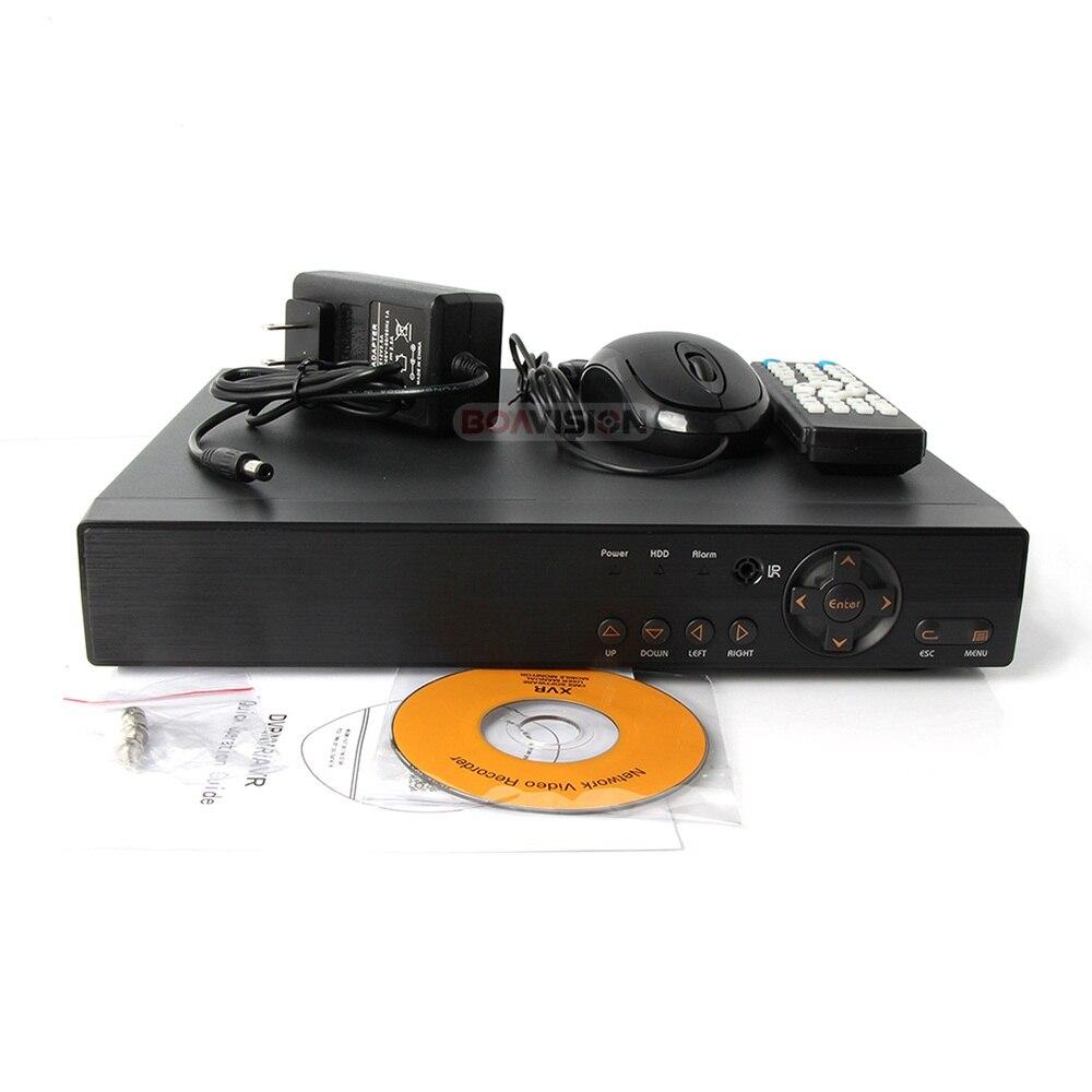 5 en 1 AHD CVI TVI CVBS NVR 4Ch 8Ch 16Ch 1080N sécurité CCTV DVR NVR XVR enregistreur vidéo hybride 1080 P Onvif Max 4 to P2P vue - 6