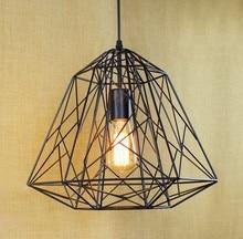 loft stil schmiedeeisen vogelkfig net droplight industrie jahrgang anhnger leuchten fr haus bar kaffee hngelampe - Industrial Vintage Wohnhaus Loft Stil