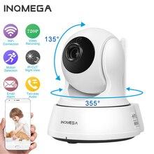 Inqmega 720p câmera de vigilância residencial, ip sem fio wi fi, vigilância residencial, cctv, visão noturna p2p, visão remota