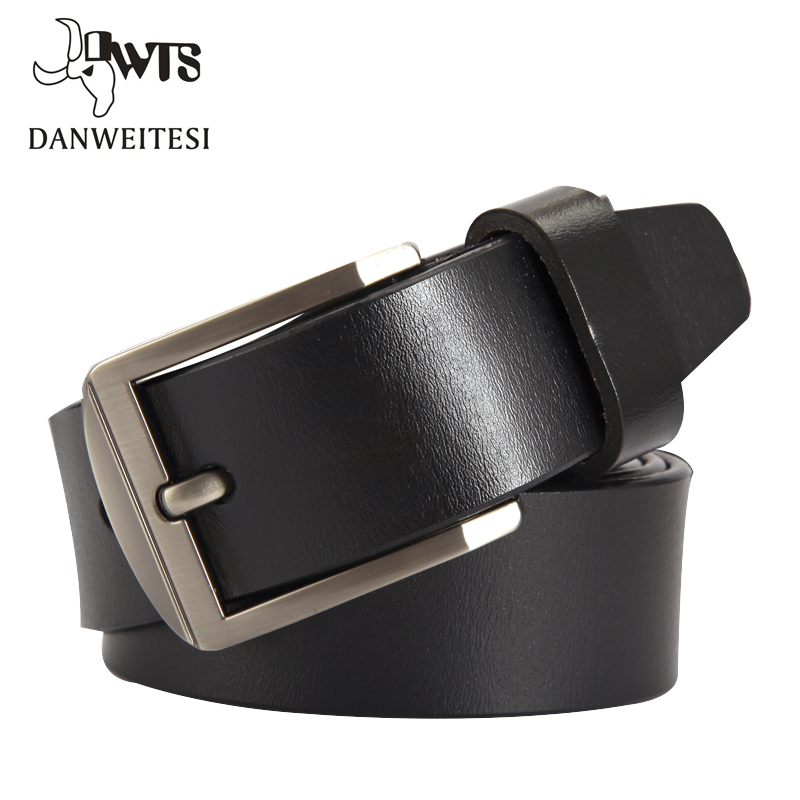 [DWTS] Man Belt Fashion Designer Belts Men High Quality Cow Genuine Leather Strap Man  Cowhide Belt
