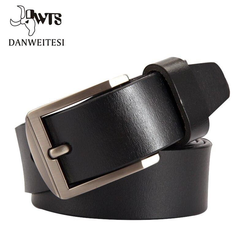 [DWTS] man   belt   Fashion Designer   Belts   Men High Quality Cow Genuine Leather Strap Man Cowhide   Belt