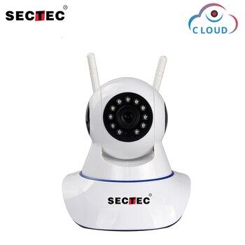SECTEC HD 1080 P Cloud caméra IP sans fil Surveillance de sécurité à domicile réseau CCTV caméra 2MP WIFI caméra Vision nocturne bébé moniteur