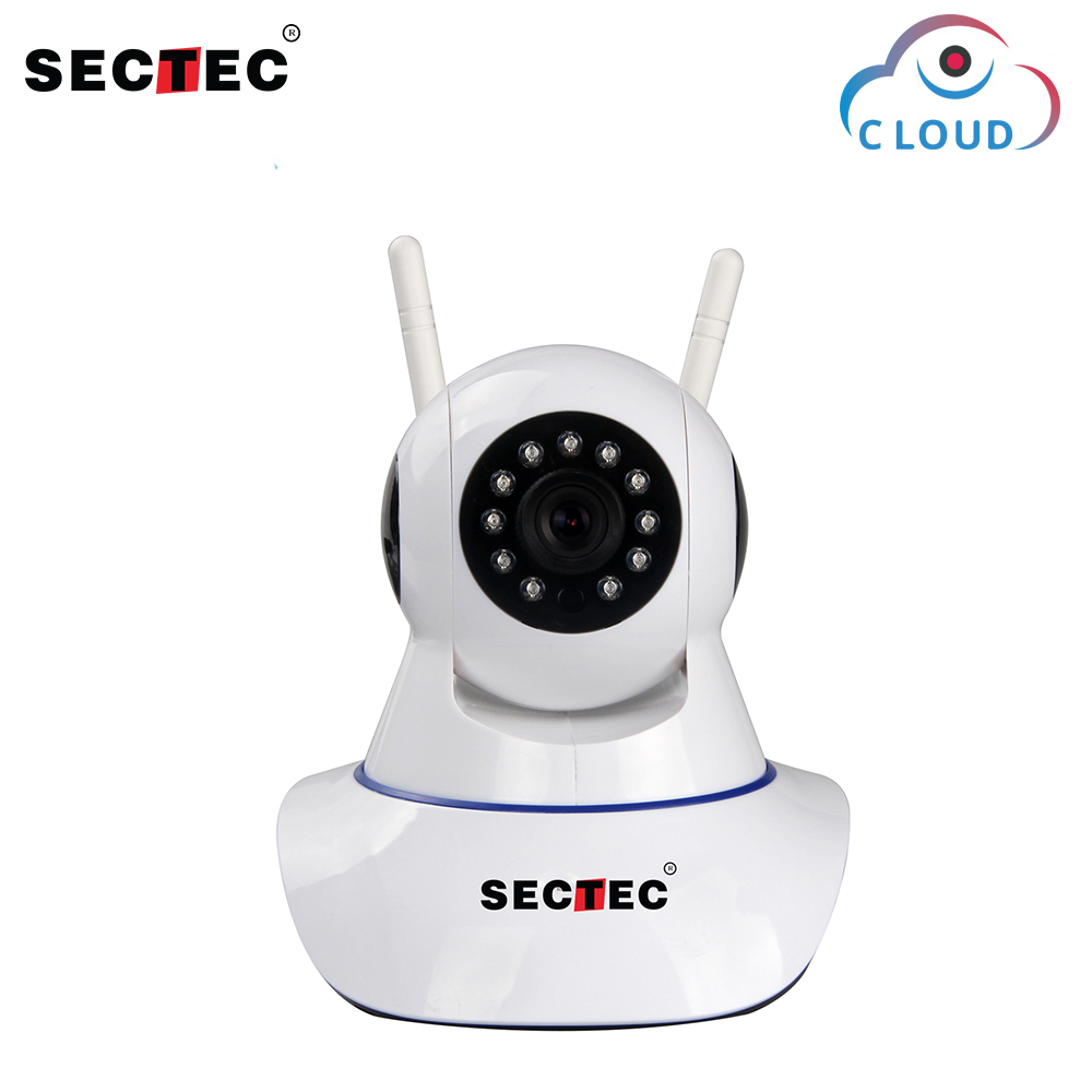 SECTEC HD 1080P Cloud Wireless IP Camera Home Security Surveillance Network CCTV Camera 2MP WIFI Cam Night Vision Baby Monitor цена