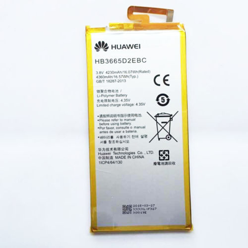 Cellphones & Telecommunications Mobile Phone Parts For Hua Wei Replacement Phone Battery Hb3665d2ebc For Huawei P8 Max 4g W0e13 T40 P8max 4230mah Battery