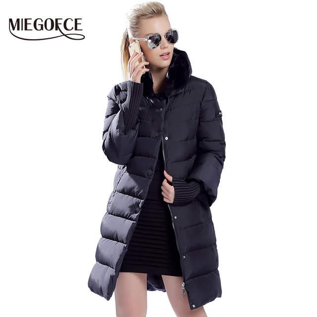 eb0894a8db1e7 placeholder MIEGOFCE 2019 invierno pato abajo Chaqueta larga de las mujeres  abrigo Parkas de mujer ropa de