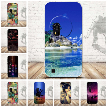Newest Fashion Ultra Thin Soft Silicone TPU Beach Cloudy Moon Ocean Scenery Phone Case for Asus Zenfone Zoom ZX550 Case image