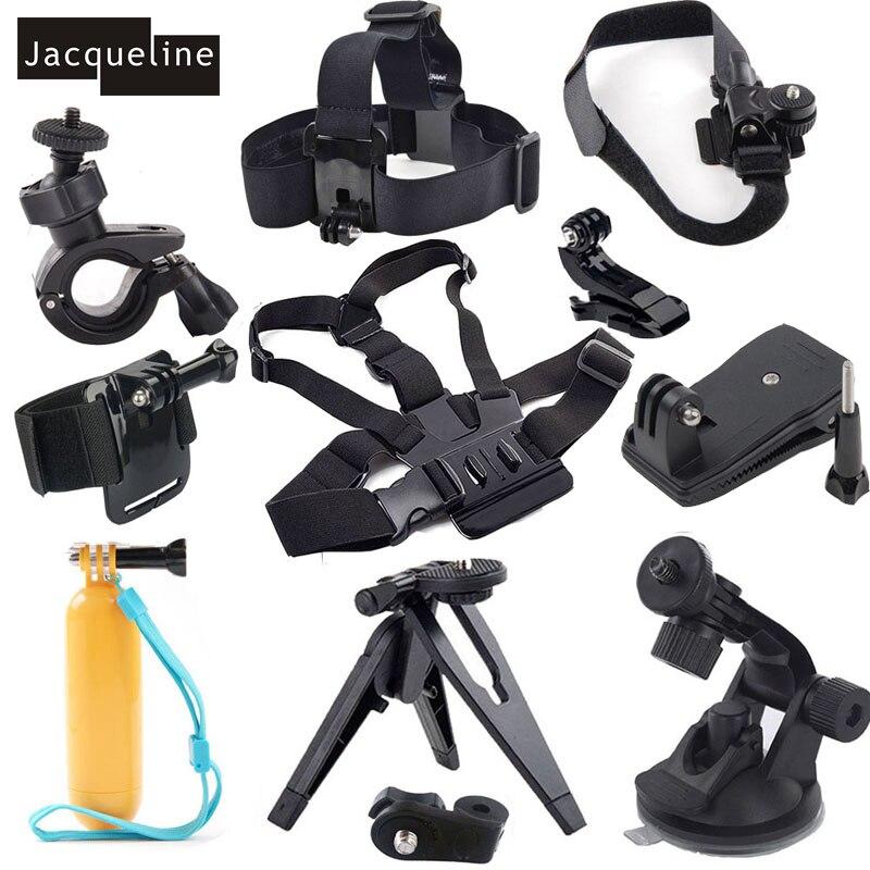 Jacqueline pour kit de poignée à main flottante accessoires pour Sony Action Cam HDR-AS20 AS30V AS100V AS15 AS200V AZ1 FDR-X1000V/W 4 K